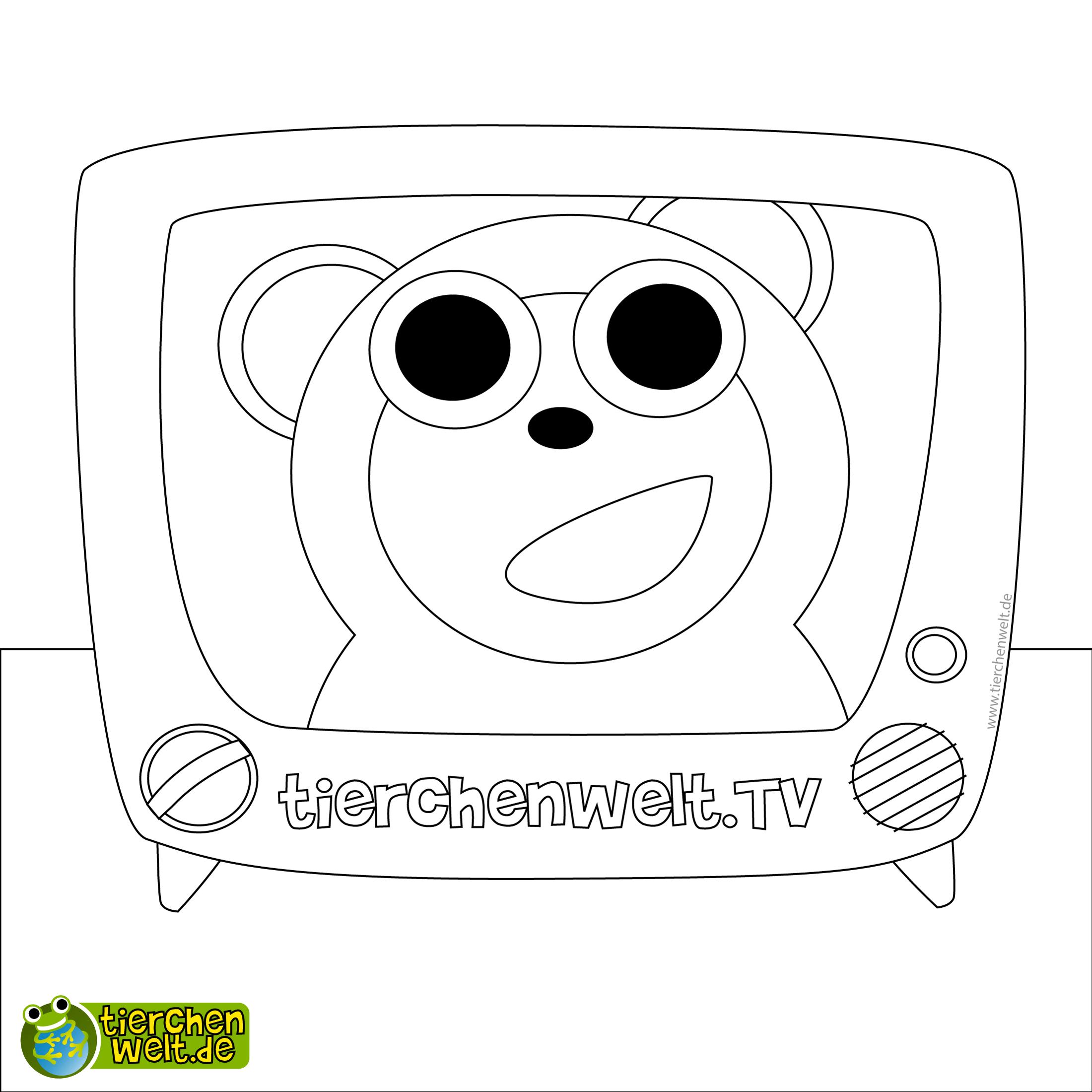 Malvorlage Tv